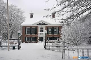 coendersborch in de sneeuw